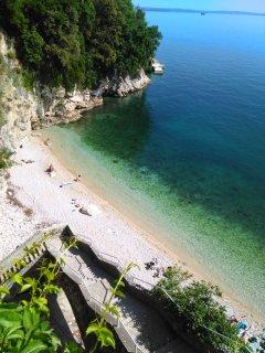 The most beautiful city beach in Rijeka
