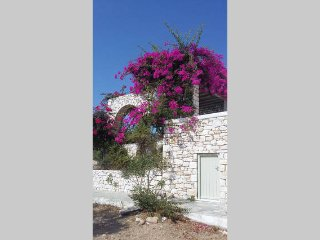 Paros, 2km from Naoussa, Countryside sea View fully equipped Cycladic calm place