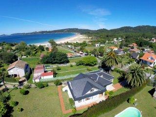 Nerga 6d: Chalet con jardín en la Playa de Nerga, Cangas do Morrazo