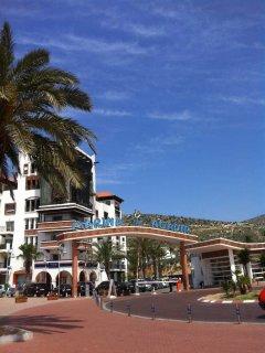 Marina's main entrance