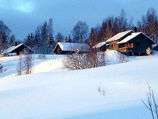 Brattvoll Eco Cabins, Lierne Municipality