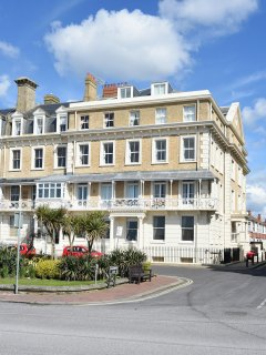 Iconic historic building on Worthing seafront