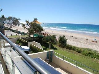 Patrolled Beach by Nobby's Beach Surf Life Saving Club next door