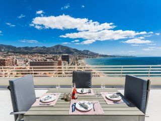 Stunning first line beach penthouse in Fuengirola