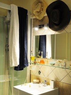 il bagno con doccia idromassaggio