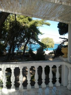 Maisonette balcony with seaview