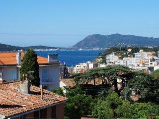 Top emplacement - Vue mer et plages à pieds à 5', Toulon