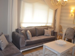 Spacious Fatih Lux Residence III apartment in Aksaray with WiFi, airconditioning & lift., Istambul
