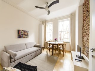 Relax Galata apartment in Beyoglu with WiFi & air conditioning.
