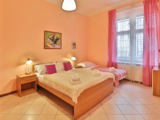 Havlicek Gardens apartment in Vinohrady with WiFi.