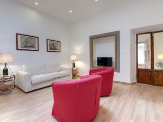 The Wine Charm apartment in Oltrarno with WiFi, airconditioning & balkon.