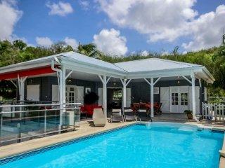 Superbe villa moderne, 2CH, piscine privée vue mer, Trois-Ilets