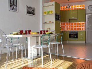 Retro Chic Balcony apartment in VI Terezvaros with WiFi, air conditioning, balco