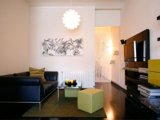 Spacious Sueño Miró apartment in Poblenou with WiFi, airconditioning (warm