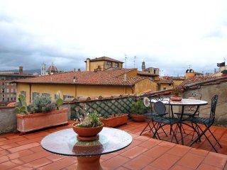 Spirito Fiorentino apartment in Oltrarno with WiFi & dakterras.