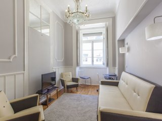 Augusta Retro apartment in Baixa/Chiado with WiFi.