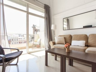 Adolfo Penthouse apartment in El Arenal with WiFi, integrated air conditioning (