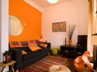 Spacious Senhora das Mercês apartment in Bairro Alto with WiFi.