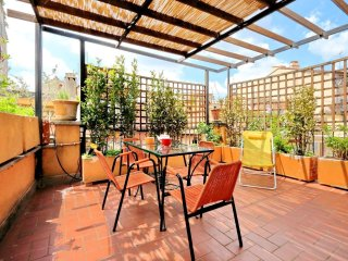 Navona Penthouse Terrace apartment in Centro Storico with WiFi, airconditioning
