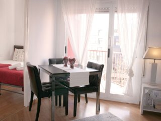 Roger de Flor apartment in Eixample Dreta with WiFi, airconditioning, privéterras & lift., Barcelona