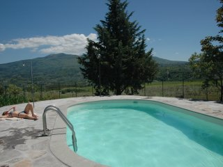 rosa Apartament con piscina, Poggio Rineschi, Maremma, Castel del Piano