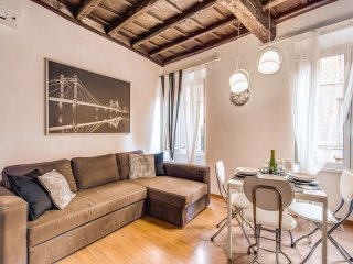 Campo De' Fiori Black apartment in Centro Storico with WiFi & airconditioning (warm / koud)., Roma