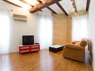 Loftly apartment in Extramurs – Botanic with WiFi & airconditioning (warm / koud)., Valencia