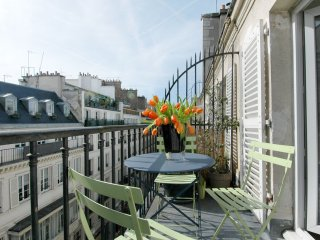Royal Vivienne apartment in 02ème - La Bourse with WiFi, balkon & lift., Paris