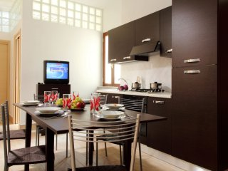 Gregorius apartment in San Pietro with WiFi, airconditioning, balkon & lift.