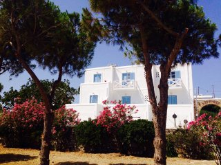 Exterior view from the beach