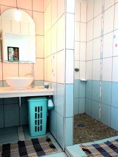 L'Oasis de Terre Rouge - Appartement Frangipanier - Salle de bain