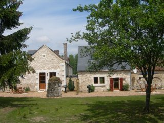 Luxury gite close to vineyards, chateaux and Le Mans