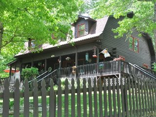 Town and Country Retreat - Upscale 4 Bedroom Rental Close to Deep Creek with Hot Tub, Dry Sauna and More, Bryson City