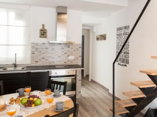 Gracia Relax apartment in Eixample Dreta with WiFi & air conditioning.