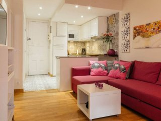 Blasco de Garay apartment in Poble Sec with WiFi, airconditioning, balkon & lift., Barcelona