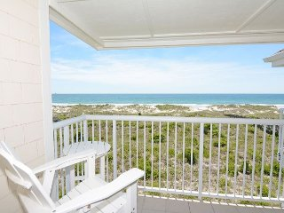 Wrightsville Dunes 3C-H - Oceanfront condo with community pool, tennis, beach