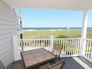 Beach Front Oasis - Oceanfront condo just steps away from the sandy beach, Carolina Beach