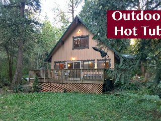 22GS Pet Friendly Cabin with a Hot Tub, WiFi and Netflix, Glacier
