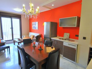 Santa Clara 14 apartment in Macarena with WiFi, integrated air conditioning (hot
