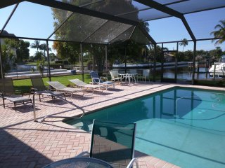 2 Bedroom Pool Home On Intersecting Canal #1, Cape Coral