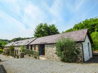 BUZZARD COTTAGE, all ground floor, hilltop views, pet-friendly, Llandysul, Ref