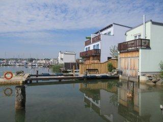 Ferienhaus Seepferdchen IM Hainer See mit Boot und Privatsteg ****