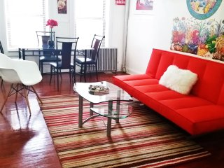 Large Elegant &Charming 1BrApt-12 min to Manhantta, Brooklyn