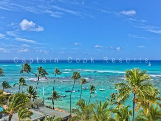 900 Sq Foot Condo - Quiet Beachfront Building - Swimming/Surfing Beach, Honolulu