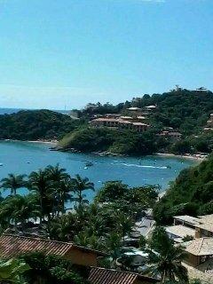 Praia de João Fernandinho a 100 metros da casa