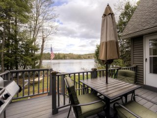Sandy Beach Access! Quiet & Relaxing 3BR Gilmanton House w/Wifi, Fire Pit & Panoramic Views of Shell Camp Lake - Close Proximity to Outdoor Recreation & Local Attractions!