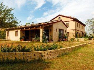 Landhaus in Panoramalage 'Haus Cappanna', Montecarotto