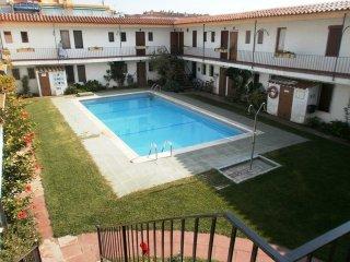 Apartamento a 100m de la playa,A/A,piscina,wifi..