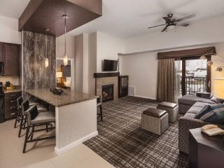 The Canyons Wyndham Resort ski in ski out 2BR