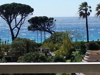 WATERFRONT / Film Festival 600m, Direct access to the beach,Pool in park, Garage